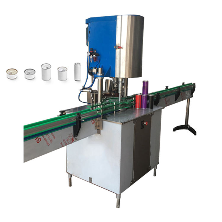 Small Fruit Food Canning Machine Automatic Canned Tuna Sealing Machine