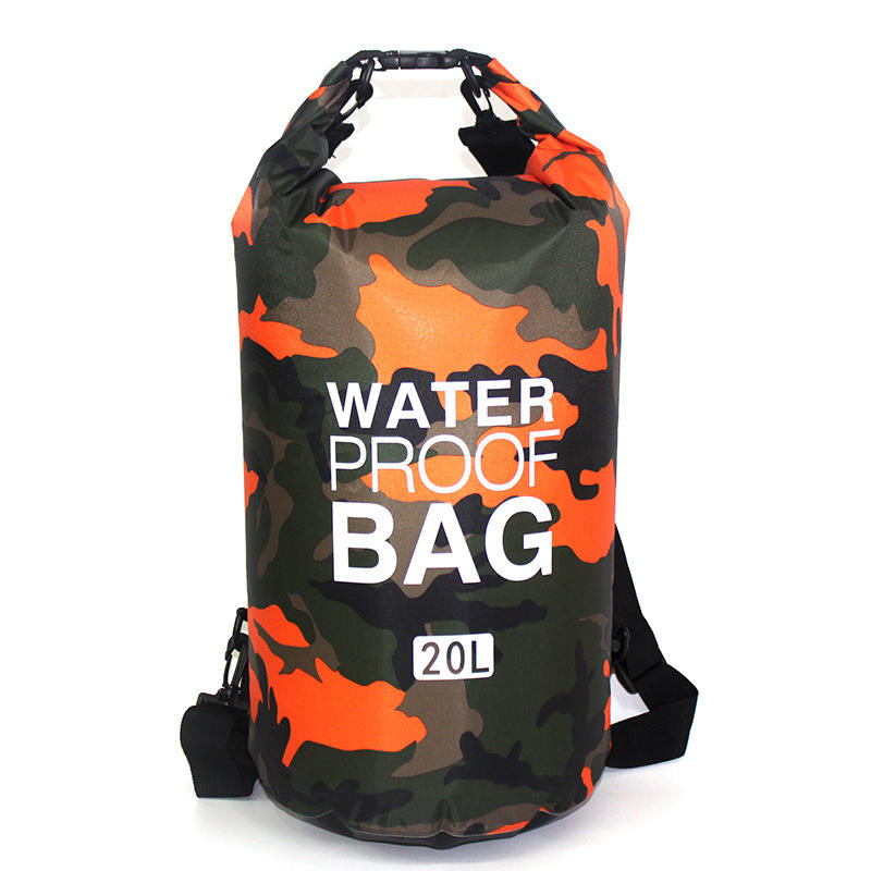 Yiwu outdoor drijvende water proof camouflage dry bag tpu custom dry bag