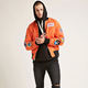 OEM factory china wholesale mens padded NASA patched bomber jacket winter goods