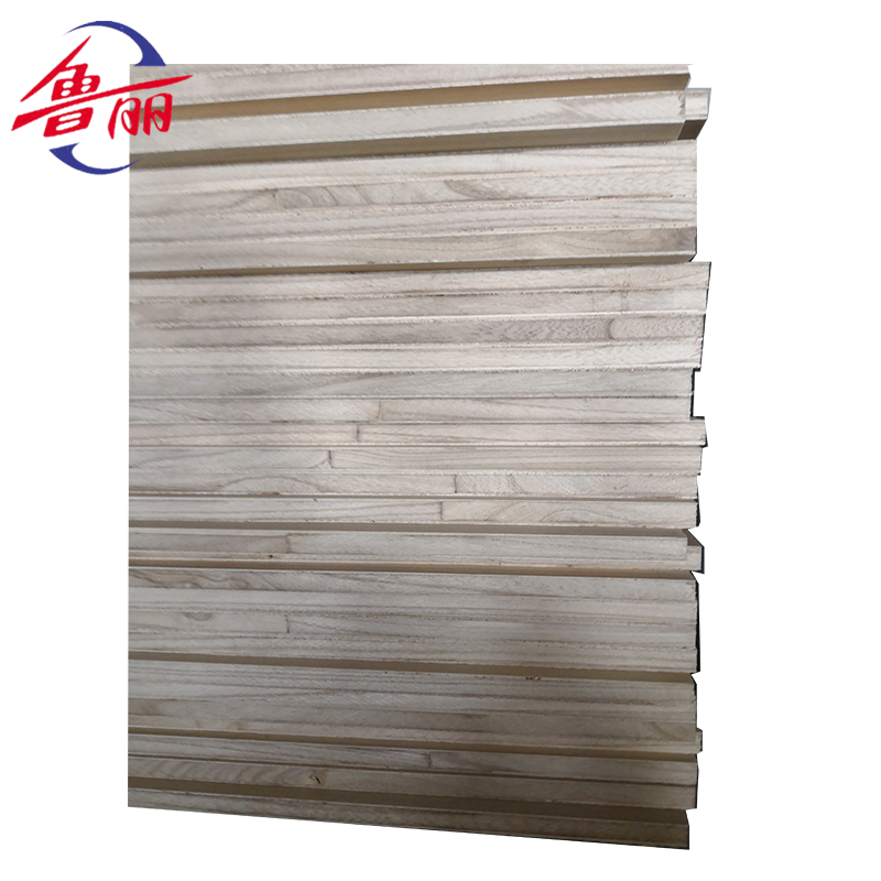 paulownia core block board with best price of luli group