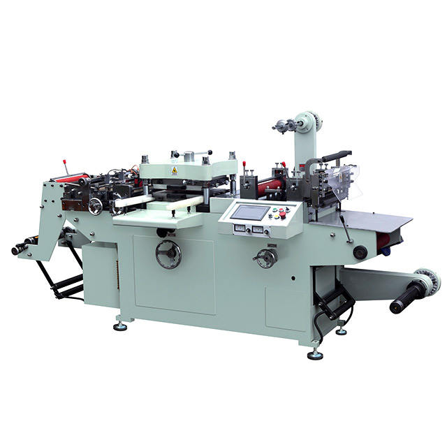 Automatic fast speed adhesive label punching die cutting machine