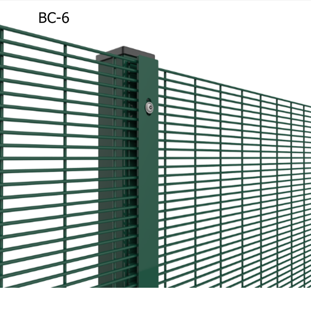 Hot galvanised prison fence anti cut 358 security fence for sale