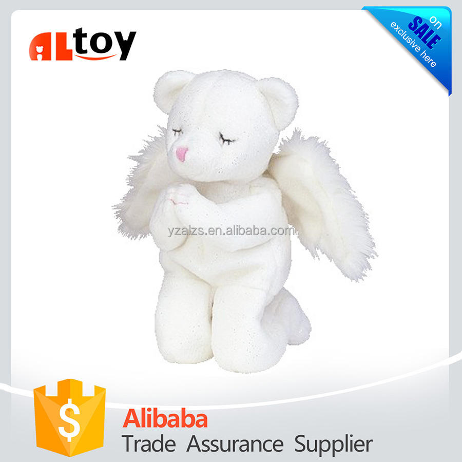 Blessed Toy Angel Bear Plush Animal