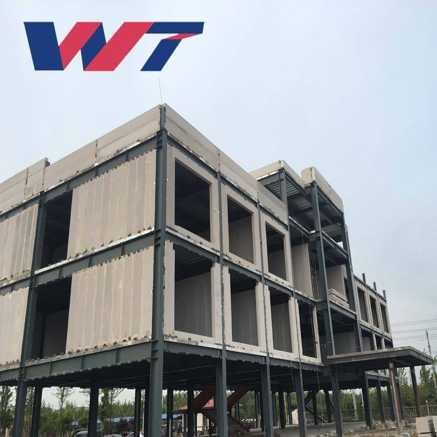 2019 steel structure design fast fabrication prefabricated metal hotel building