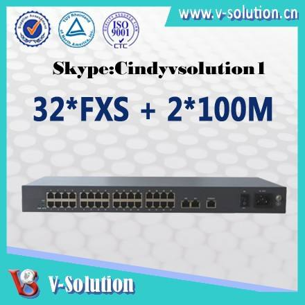Sip電話機2*100m32fxsの<span class=keywords><strong>voip</strong></span>電話ゲートウェイ