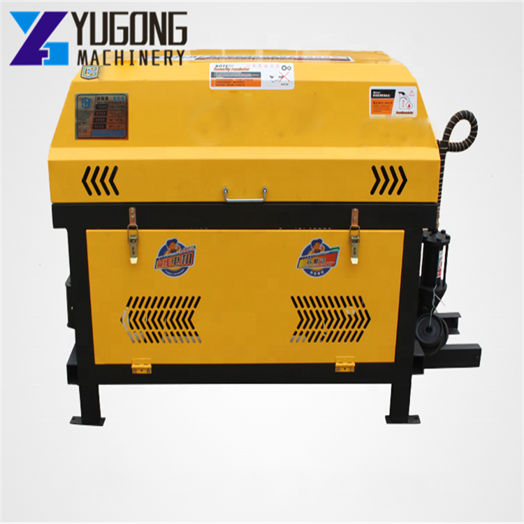 Factory direct selling Scrap steel bar straightening and cutting machine
