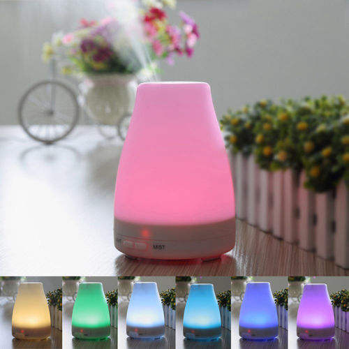 Electric Portable Ultrasonic Led Cool Mist Humidifier Diffuser Essential Oil Diffuser CAR USB Tabletop / Portable Hotel 1 YEAR