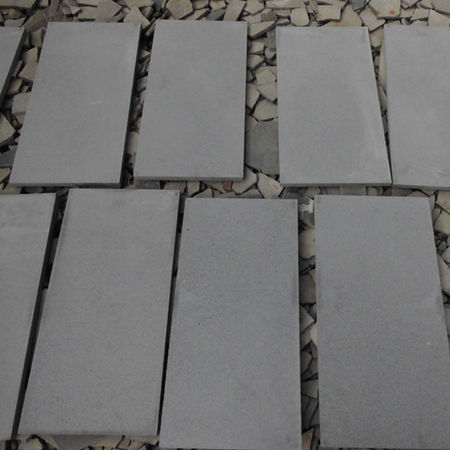 Hot sale cheap price Indoor and outdoor Grey Basalt floor tile