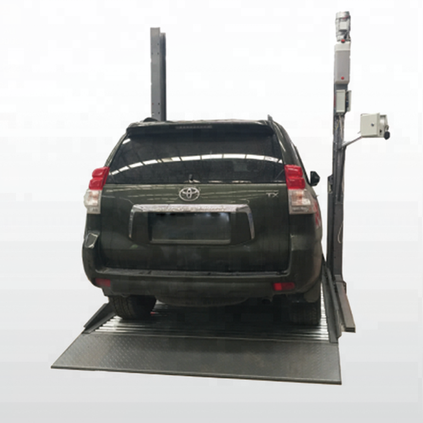 Family Use 2 Post Parking Lift High Quality 2 Level Parking Car Lift Mechanical Car Parking System