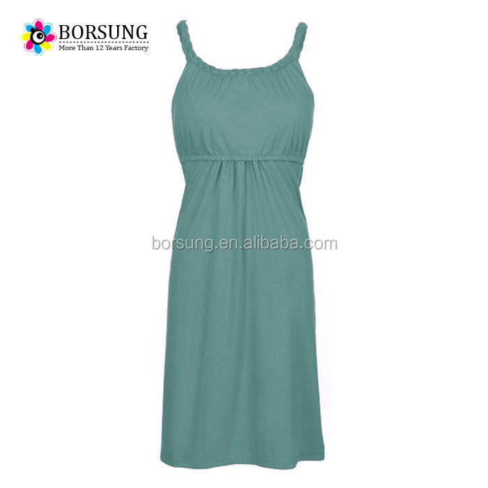 Pregnancy clothes women pure colour sleeveless front nursing pregnancy elegant maternity dress