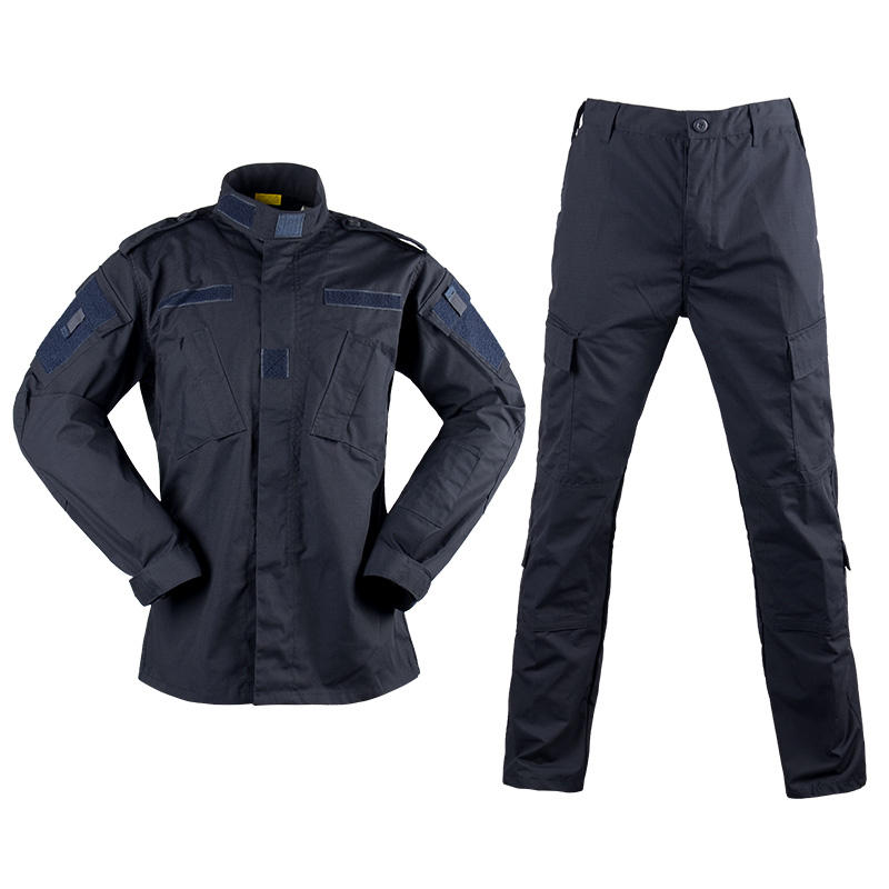 Wholesale A C U Navy Blue Tactical Uniform Jacket Clothing Uniform