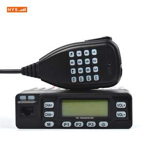 HYS 25 W Mini Walkie Talkie VHF UHF Dual Band Radio Transceiver Pengacak Ponsel Bayi