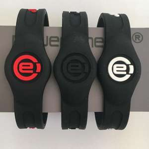Custom Power Energy Silicone Balances Magnetic Wristband, Ion Bracelet - Sports/Golf/Arthritis Therapy wrist bands