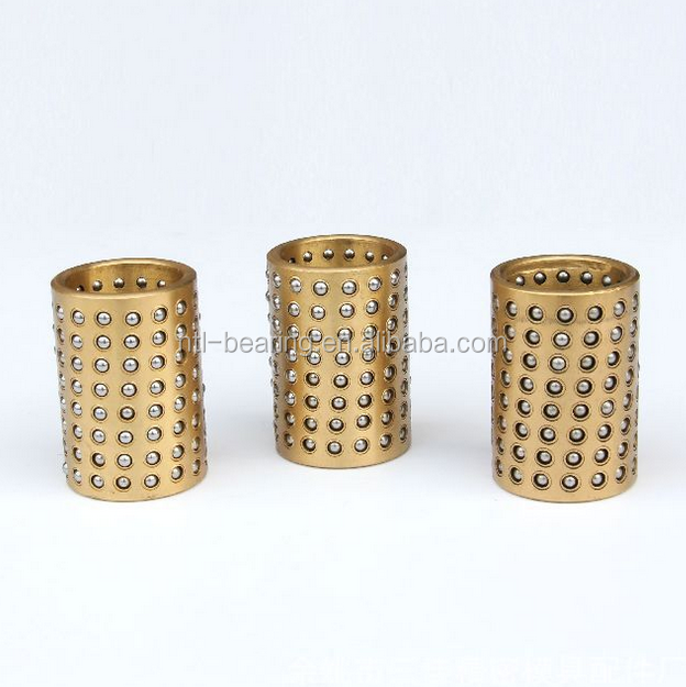 H2*42*50mm Brass ball cage retainer sliding bushing bearing