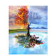 CHENISTORY DZ11801 Frame Tree DIY paint by number canvass Modern Wall Art Picture Coloring By Number Acrylic Canvas Painting