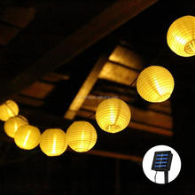 outdoor Warm white lantern solar string light
