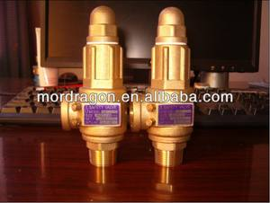 LIFT TYPE BRASS SAFETY RELIEF VALVE