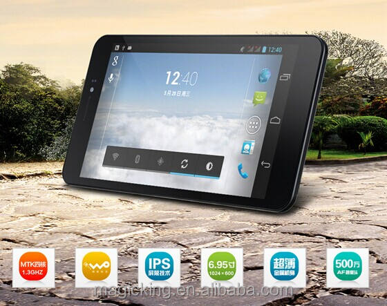 Pipo Talk-T5 Pipo T5 qpad 6. 95 inç android tablet pc