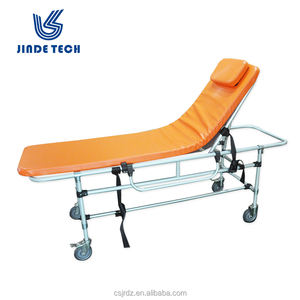 Hospital mobile cart for MRI emergency non-magnetic gurneys from China