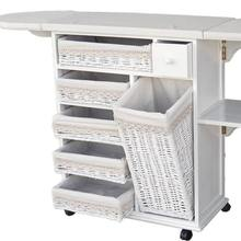 Factory Wholesale Cheap Custom Size Solid Wooden Folding Ironing Board Storage Cabinet
