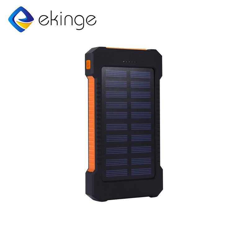High capacity polymer battery solar charger for smartphone