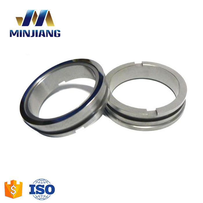 High wear resistance sintered mechanical tungsten carbide seal ring