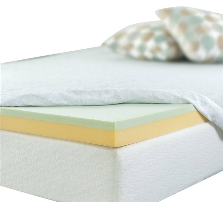 Dubbellaags Traagschuim <span class=keywords><strong>Matras</strong></span> <span class=keywords><strong>Topper</strong></span>
