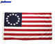 Wholesale Stock 3 x 5 Foot Nylonheader Colonial 13 Stars Betsy Ross US American Flag