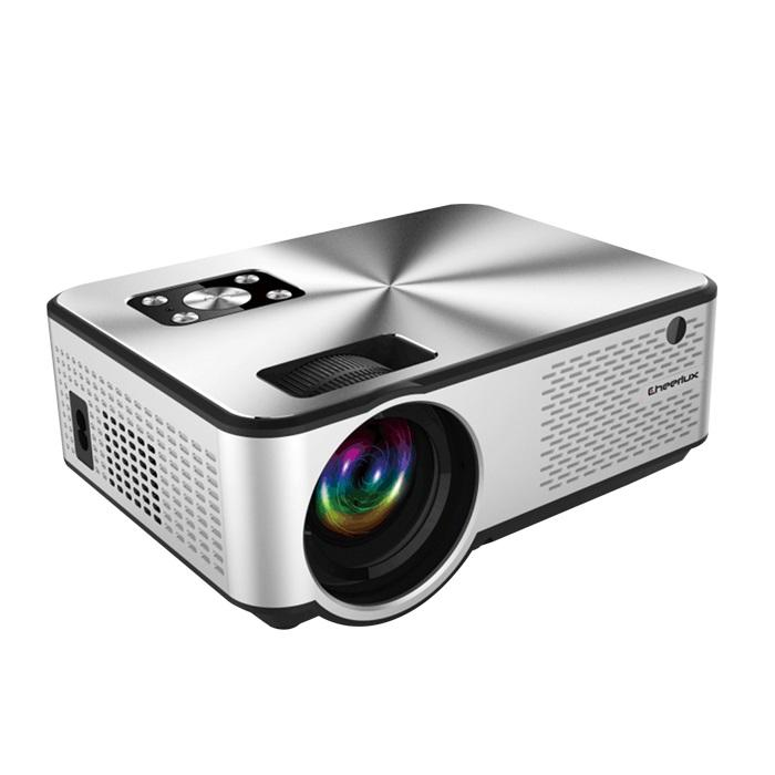 Cheerlux Home Theater C9 LCD Proyektor 1080 P Full HD Video Projector Home Cinema Ponsel Pintar Proyektor Mini Layar Besar beamer