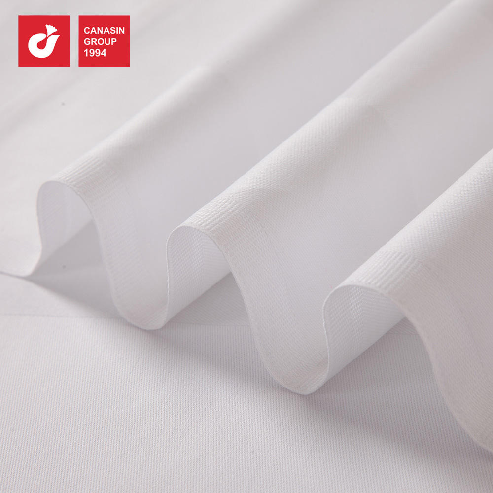 Cotton White Embossed Bleached Jacquard Satin Band Table cloths From China