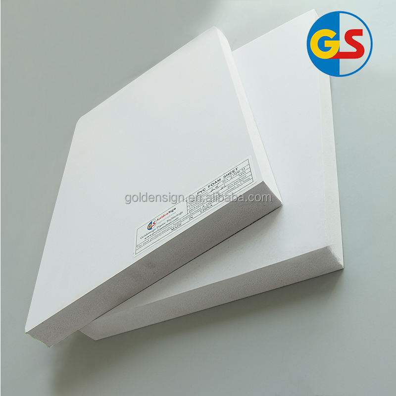 green and waterproof PVC foam board/modern pvc furniture/hot size 1.22m*2.44m/biggest manufacturer in Shanghai