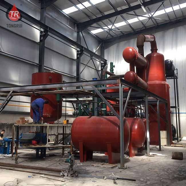 mobile mini crude hydraulic oil and engine oil refinery filter
