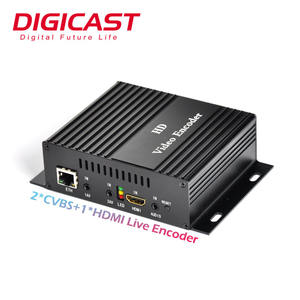 (DMB-8800A) Digicast H.264 Video Encoder IPTV Server IP Live-Streaming Kabel-tv Digital Encoder