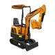 VTW-10 1.0 Ton 11.7 HP Rhinoceros Mini Hydraulic Crawler Excavator Prices
