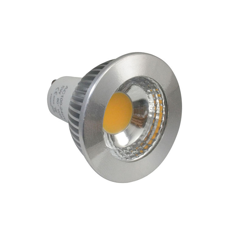 Lampu Led Gu10 5 Watt Diameter 60Mm Gu10, CE RoHS Gu10 Led 5 W