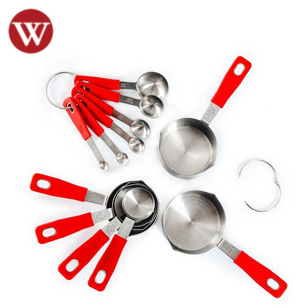 12 Piece Stainless Steel Measuring Spoons Set , Measuring Spoon stainless Steel, Good Quality Measuring cup and spoon set
