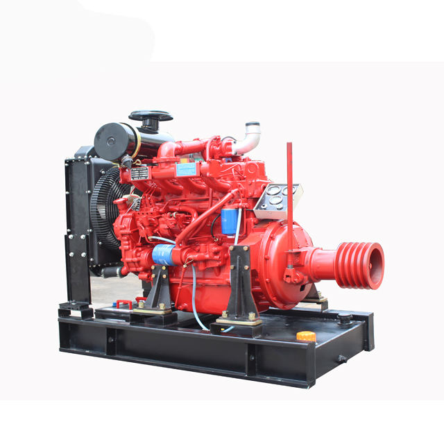 Small Chip Wood Machine used ZH4100P Diesel Engine with clutch