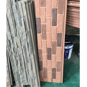 Polyurethane Beauty Cheap Decorative Wall Panel PU faux brick interior walls