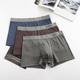 Male soft brief underwear New Arrival Fashion Mens Underwear cotton boxer briefs