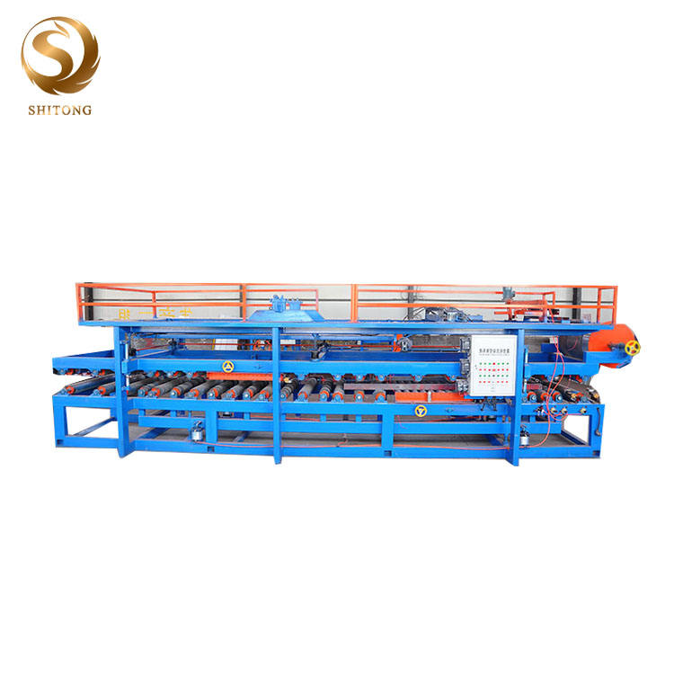 Horizontal color steel eps sandwich panel making machine with competitive price