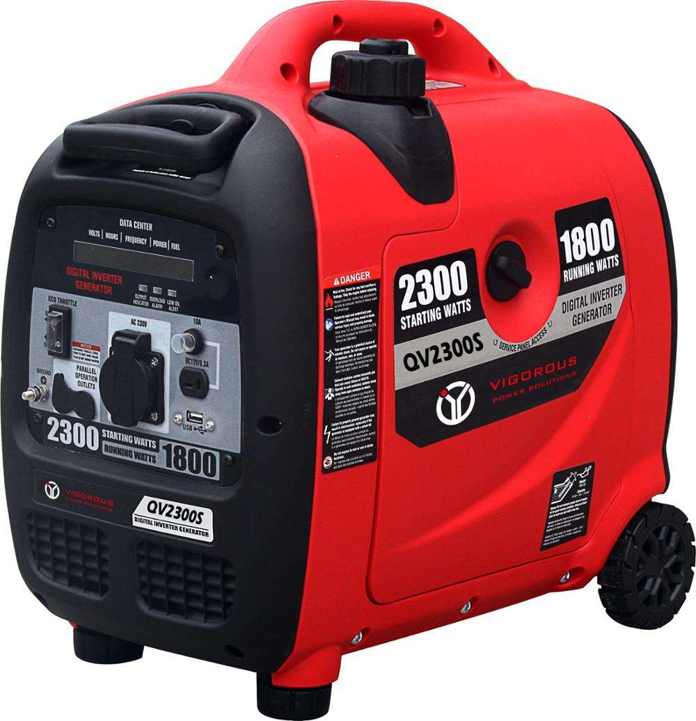 Honda Style Easy carry Single Phase 2.3KW Inverter gasoline generator light weight for Camping 60dB