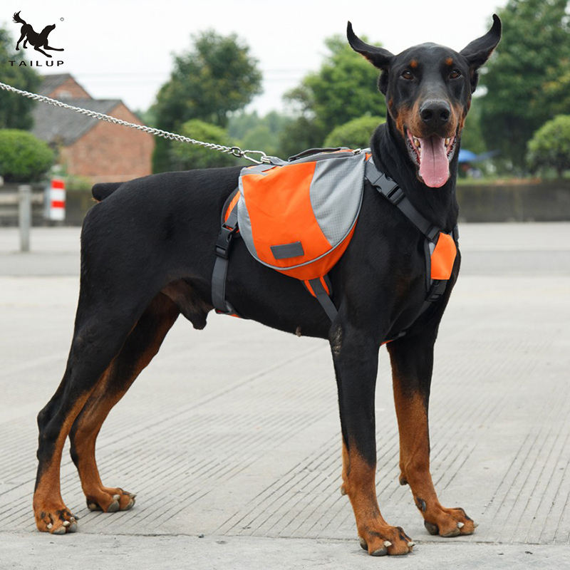 2019 Amazon di Vendita Superiore Dog Back Pack <span class=keywords><strong>borse</strong></span> da Sella di Formazione Outdoor Trekking Zaino <span class=keywords><strong>Cane</strong></span>