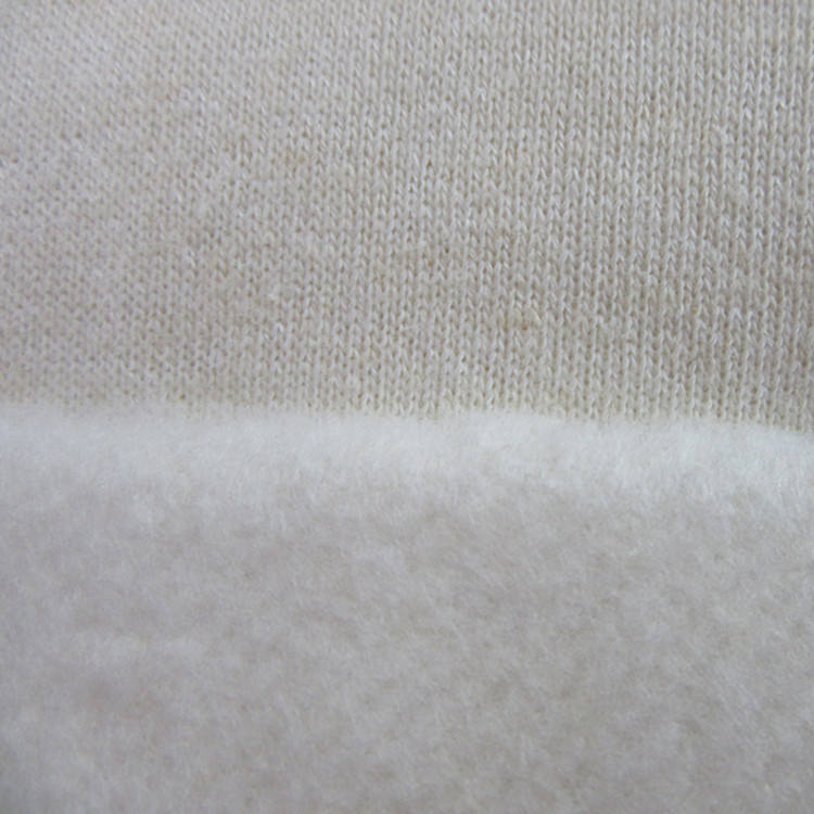 breathable absorbent high quality hemp bamboo fleece knitted fabric for cloth diaper