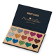 15 colors Make up cosmetics pallet wholesale highlighter powder pigmented eyeshadow