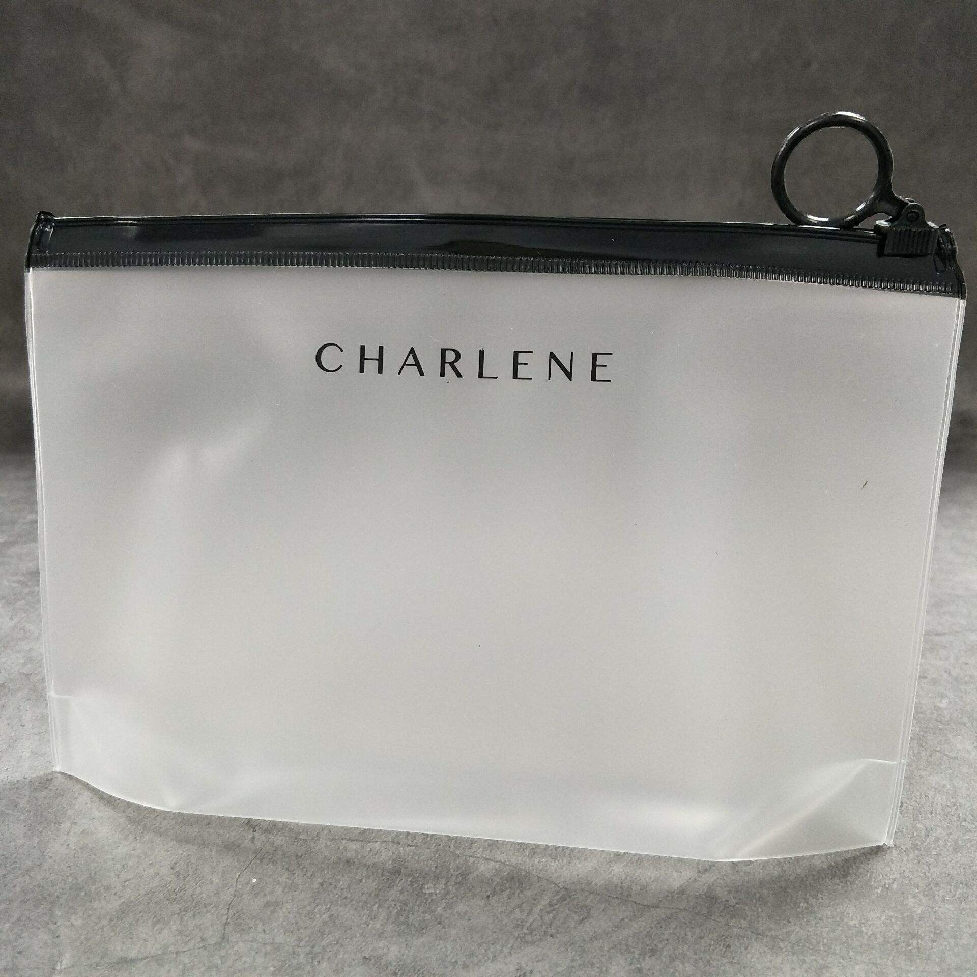 Promotional Clear Transparent Vinyl Plastic Packaging Pvc Cosmetic Bag Zipper Travel Cosmet Bag