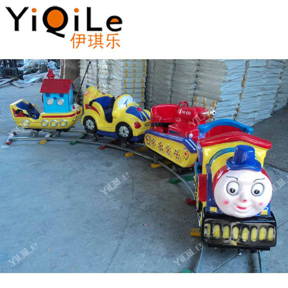 Deluxe Little thomas the train toy electric ride on train supplier