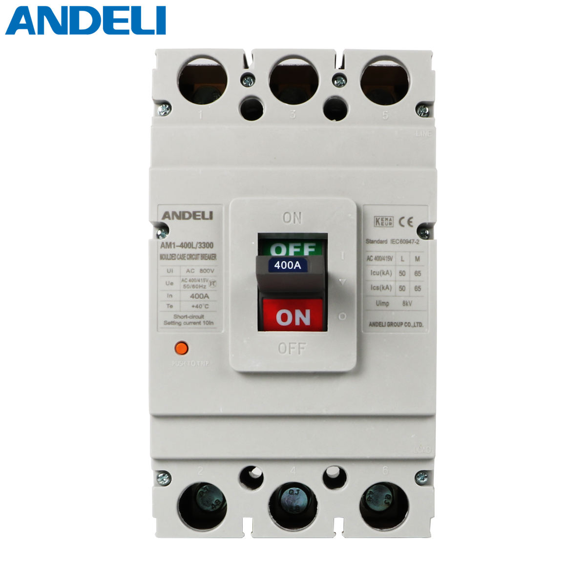 ANDELI AM1-400L/3300 Moulded Case Circuit Breaker Circuit Breaker Mccb