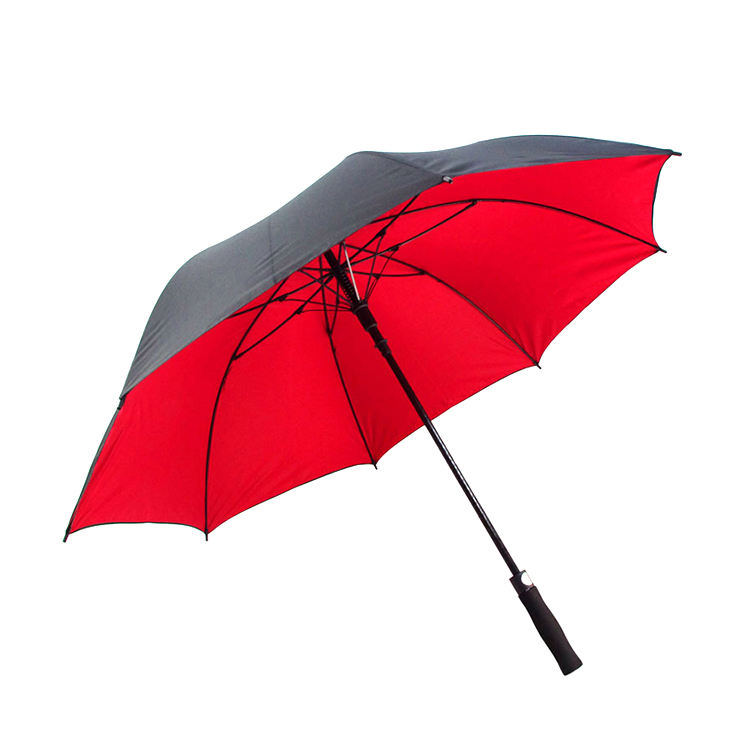30 inch 8k 190T pongee auto open personalized customized extra long golf umbrella with print logo