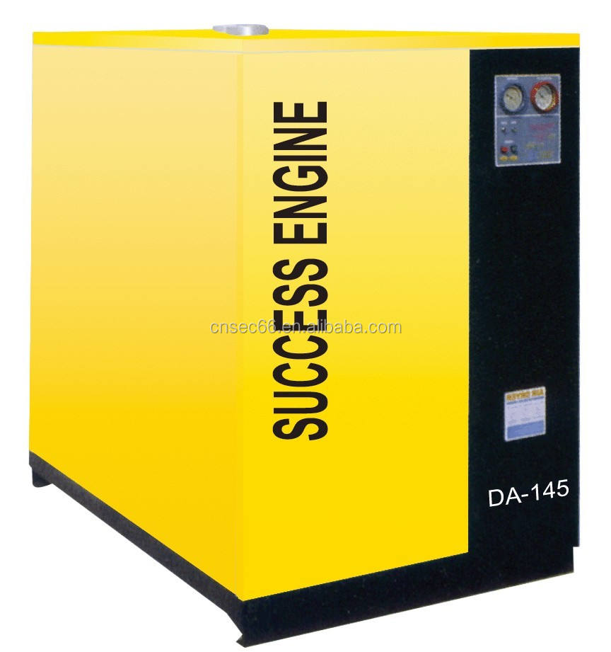 Air Cooling Refrigerated Refrigeration Compressed industrial freeze air dryer for Screw Air Compressors