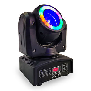 DISCO DJ RGBW 4in1 40 W 60 W MINI LED Moving Head Light Halo